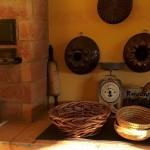 Detail küche ofen